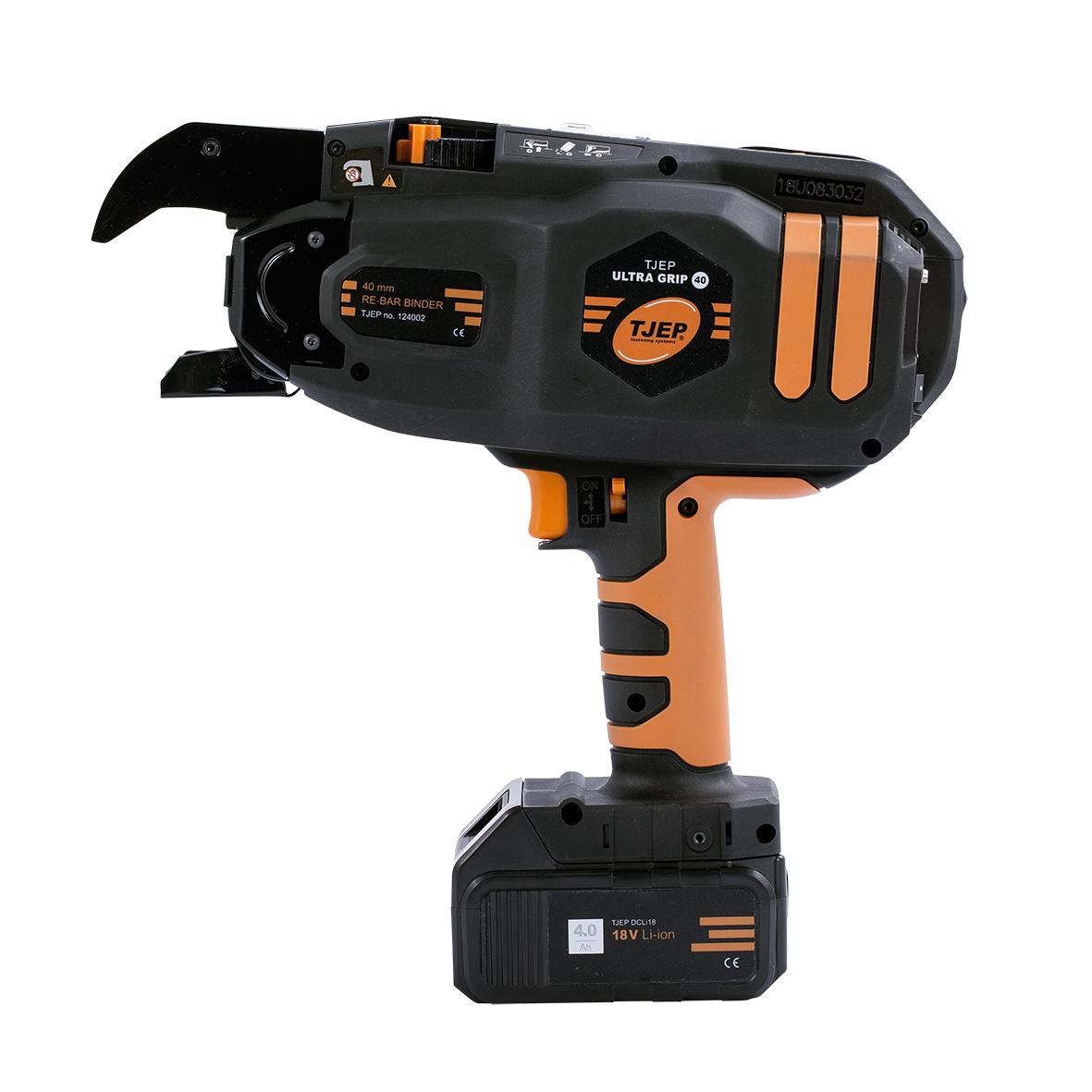TJEP UG-40 | Vlechtmachine | Extra grip | Betonvlechten